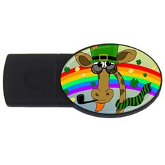 Irish Giraffe Usb Flash Drive Oval (4 Gb)