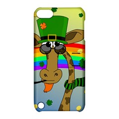 Irish Giraffe Apple Ipod Touch 5 Hardshell Case With Stand by Valentinaart