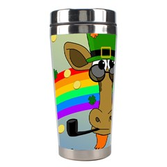 Irish Giraffe Stainless Steel Travel Tumblers by Valentinaart