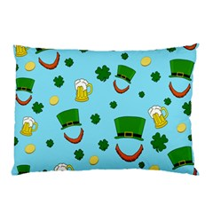 St  Patrick s Day Pattern Pillow Case by Valentinaart