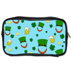 St  Patrick s Day Pattern Toiletries Bags 2 Side by Valentinaart