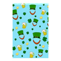 St  Patrick s Day Pattern Shower Curtain 48  X 72  (small)  by Valentinaart