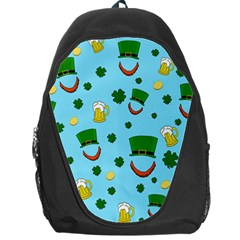 St  Patrick s Day Pattern Backpack Bag by Valentinaart