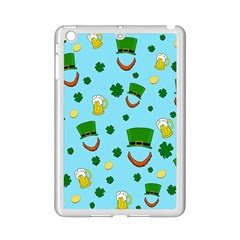 St  Patrick s Day Pattern Ipad Mini 2 Enamel Coated Cases by Valentinaart