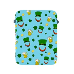 St  Patrick s Day Pattern Apple Ipad 2/3/4 Protective Soft Cases by Valentinaart