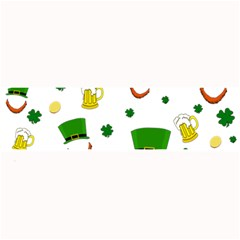 St  Patrick s Day Pattern Large Bar Mats by Valentinaart