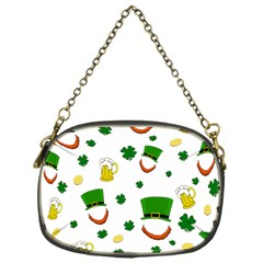 St  Patrick s Day Pattern Chain Purses (one Side)  by Valentinaart