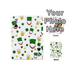 St  Patrick s Day Pattern Playing Cards 54 (mini)
