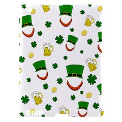 St  Patrick s Day Pattern Apple Ipad 3/4 Hardshell Case (compatible With Smart Cover) by Valentinaart