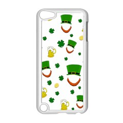 St  Patrick s Day Pattern Apple Ipod Touch 5 Case (white) by Valentinaart