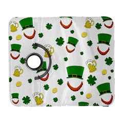 St  Patrick s Day Pattern Galaxy S3 (flip/folio) by Valentinaart