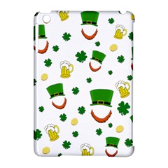 St  Patrick s Day Pattern Apple Ipad Mini Hardshell Case (compatible With Smart Cover) by Valentinaart