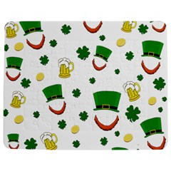 St  Patrick s Day Pattern Jigsaw Puzzle Photo Stand (rectangular) by Valentinaart