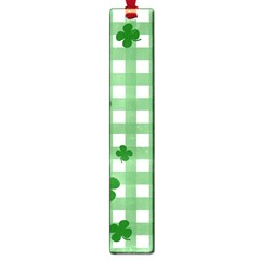 Clover Pattern Large Book Marks by Valentinaart