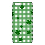 Clover pattern iPhone 6 Plus/6S Plus TPU Case Front