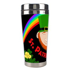St  Patrick s Day Stainless Steel Travel Tumblers by Valentinaart