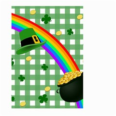 St  Patrick s Day Rainbow Large Garden Flag (two Sides)