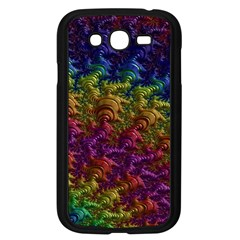 Fractal Art Design Colorful Samsung Galaxy Grand Duos I9082 Case (black) by Nexatart