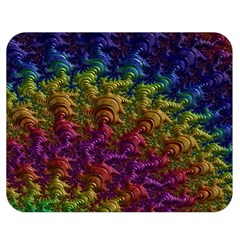 Fractal Art Design Colorful Double Sided Flano Blanket (medium)