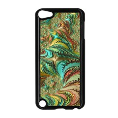 Fractal Artwork Pattern Digital Apple Ipod Touch 5 Case (black) by Nexatart