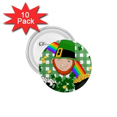Lucky Irish 1 75  Buttons (10 Pack) by Valentinaart