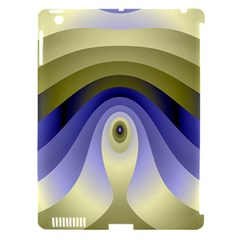 Fractal Eye Fantasy Digital Apple Ipad 3/4 Hardshell Case (compatible With Smart Cover) by Nexatart