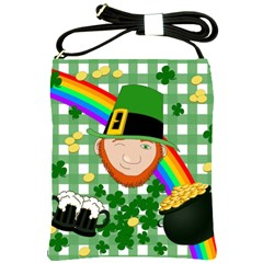 Lucky Irish Shoulder Sling Bags