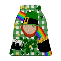 Lucky Irish Bell Ornament (two Sides)