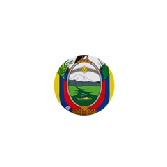 Coat Of Arms Of Ecuador 1  Mini Magnets by abbeyz71