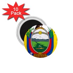 Coat Of Arms Of Ecuador 1 75  Magnets (10 Pack)  by abbeyz71