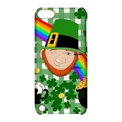 Lucky Irish Apple Ipod Touch 5 Hardshell Case With Stand by Valentinaart