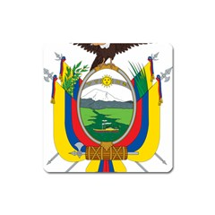 Coat Of Arms Of Ecuador Square Magnet by abbeyz71