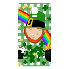 Lucky Irish Galaxy Note 4 Back Case by Valentinaart