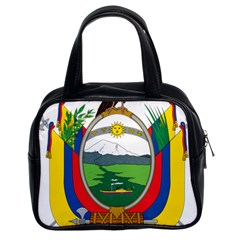Coat Of Arms Of Ecuador Classic Handbags (2 Sides) by abbeyz71