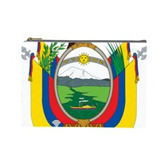 Coat Of Arms Of Ecuador Cosmetic Bag (large)  by abbeyz71