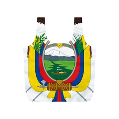 Coat Of Arms Of Ecuador Full Print Recycle Bags (s)  by abbeyz71