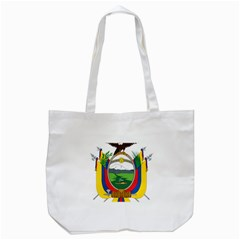 Coat Of Arms Of Ecuador Tote Bag (white) by abbeyz71