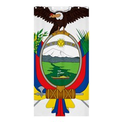 Coat Of Arms Of Ecuador Shower Curtain 36  X 72  (stall)  by abbeyz71