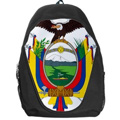Coat Of Arms Of Ecuador Backpack Bag by abbeyz71