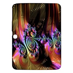 Fractal Colorful Background Samsung Galaxy Tab 3 (10 1 ) P5200 Hardshell Case  by Nexatart