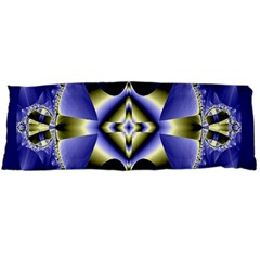Fractal Fantasy Blue Beauty Body Pillow Case Dakimakura (two Sides) by Nexatart