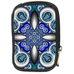 Fractal Cathedral Pattern Mosaic Compact Camera Cases by Nexatart