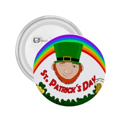 St  Patrick 2 25  Buttons by Valentinaart