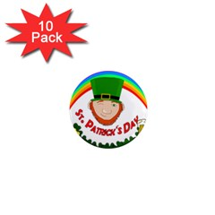 St  Patrick 1  Mini Magnet (10 Pack)  by Valentinaart