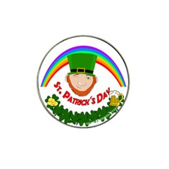 St  Patrick Hat Clip Ball Marker (4 Pack) by Valentinaart