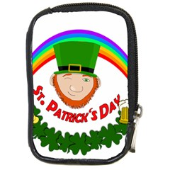 St  Patrick Compact Camera Cases by Valentinaart