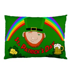 St  Patrick s Day Pillow Case by Valentinaart