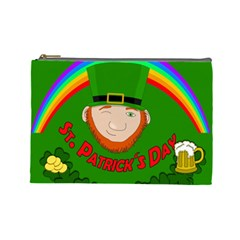St  Patrick s Day Cosmetic Bag (large)