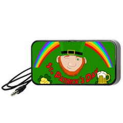 St  Patrick s Day Portable Speaker (black) by Valentinaart