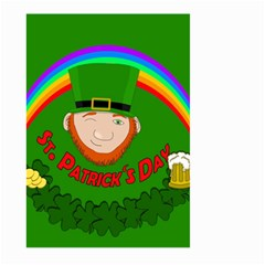 St  Patrick s Day Large Garden Flag (two Sides)